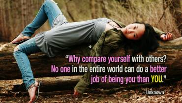 Μάθημα θάρρους 12ο: Απαλλαγείτε από την παγίδα της σύγκρισης!