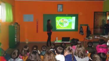 Ομιλία στο Δημοτικό Σχολείο του Αγ. Σπυρίδωνα