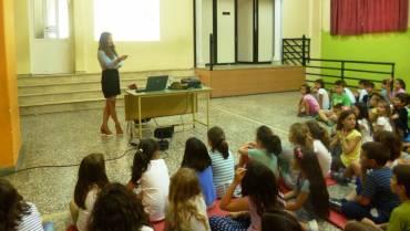 Ομιλία στο 2ο Δημοτικό Σχολείο Άρτας!