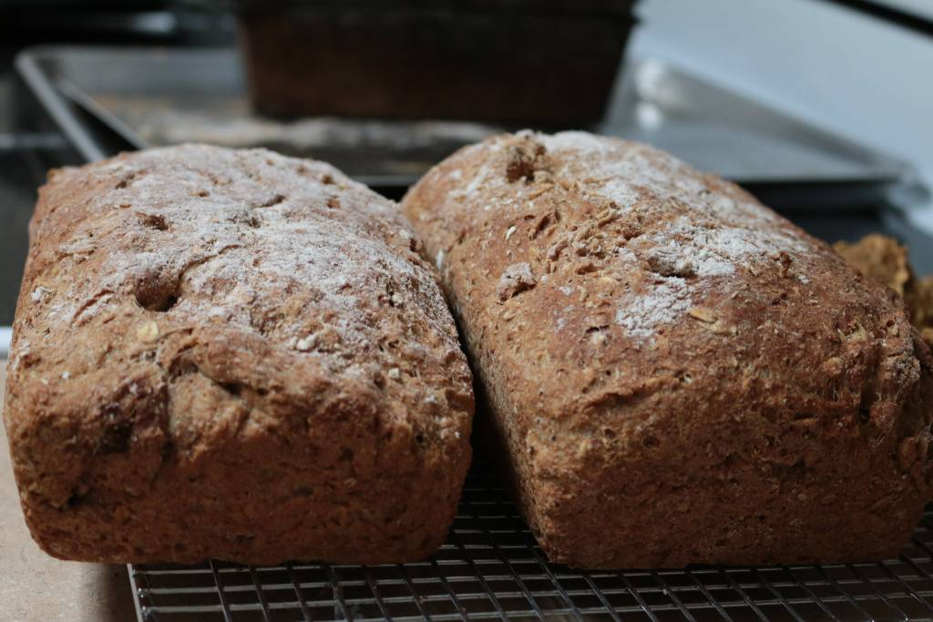 ψωμί με χαρουπάλευρο