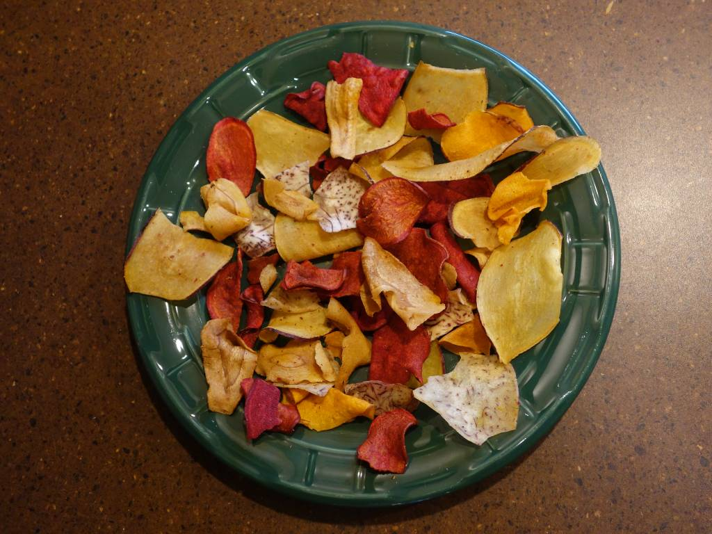 Τσιπς από διάφορα λαχανικά